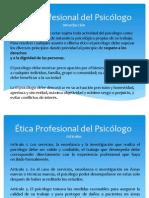 MArina Ética Profesional Del Psicólogo
