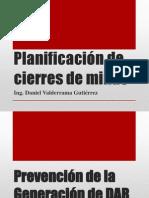 Planificación de Cierres de Minas 06