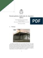 Parcial Práctico 2014 I FEM