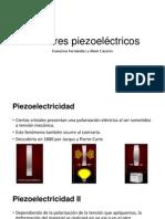 Sensores piezoeléctricos