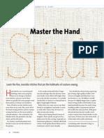 Master the Hand Stitch