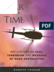 War in Our Time Reflections on Iraq, Terrorism and Weapons of Mass Destruction