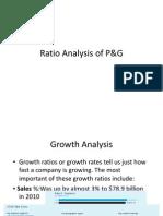 Ratio Analysis of P G PPT