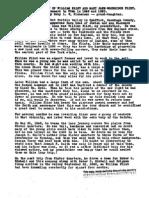 William Flint and Mary Jane Goodridge Histories
