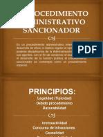 El Procedimiento Administrativo Sancionador
