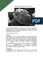 Características de Las Caídas de Ceniza Volcánica