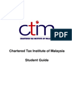 Student Guide Booklet CTIM