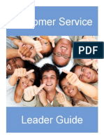 customer service booklet