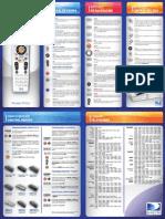 Manual de Uso Control Remoto RC64