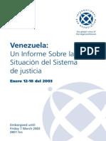 Venezuela Justice Crisis(Spanish)