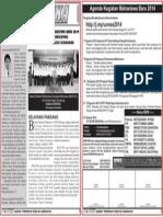 Agenda Mahasiswa Baru Unnes 2014