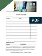 Ficha de Inscrição Torneio Futsal Js