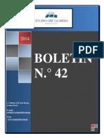 BOLETÍN ACADÉMICO N° 42