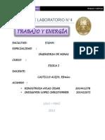 Informe Fisica Laboratorio 4