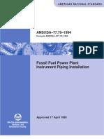 ISA 77.70-1994