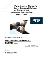 Online Recruitment System