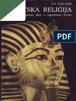 E. A. Volis Badž~Egipatska Religija