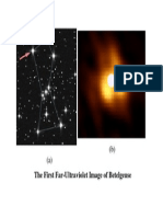 The First Far-Ultraviolet Image of Betelgeuse