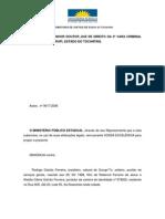 Trabalho Leandro Denuncia Minsterio Publico