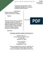 Decatur, Alabama, Voting Rights Lawsuit