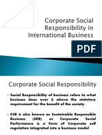13Corporate Social Responsibility in International Business