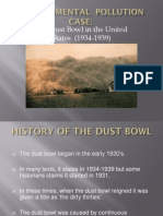 The Dust Bowl in the United States - 1934-1939