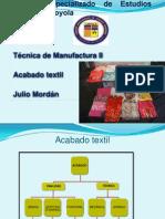 Acabado Textil Presentación