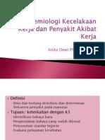 epidemiologi Kecelakaan Kerja Dan Penyakit Akibat Kerja