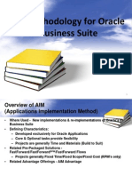 AIM for Oracle Apps