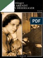 Hanna Arendt y Martin Heidegger