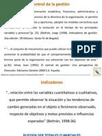11. Definición y Tipología de Los Indicadores