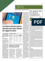 Bancos Lanzan Nuevas Opciones Para Que Clientes No Caigan en Mora_Gestión 23-06-2014