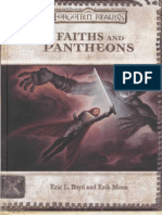 AD&D 3rd Edition - Forgotten Realms - Sourcebook - Faiths and Pantheons