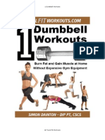 1 Dumbbell Workouts