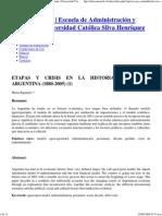 Rapoport, M. Historia Económica Argentina