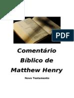 Novo Testamento Mattew Henry