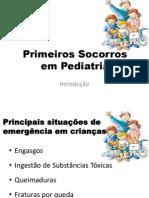 Primeiros Socorros Em Pediatria