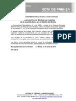 NP. 048-14 Mejoran Pavimento de Diversas Cuadras de La Avenida Arica en El Distrito de Breña