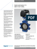 Keystone Fig. AR1-AR2 Butterfly Valve