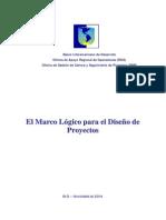 Unidad 3-BID-El Marco Lógico Para El Diseño de Proyectos