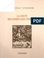 Steiner Rudolf - La Chute Des Esprits Des Ténèbres