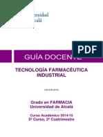 tecnologia farmaceutica