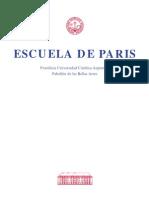 Ctalago Escuela de Paris. UCA