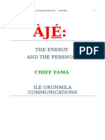 AJE the Energy and the Persona Chief Fama Listo