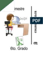Compendio de 6to Grado - Primaria - Cómputo 2014