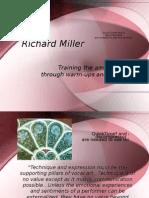 Warm-ups the Richard Miller Way