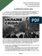 Cauzele Crizei Din Urcraina