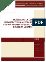 Analisis Codigo Procedimiento Penal[1]