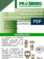Conceptos Basicos Instalacion de Sistemas Rociadores
