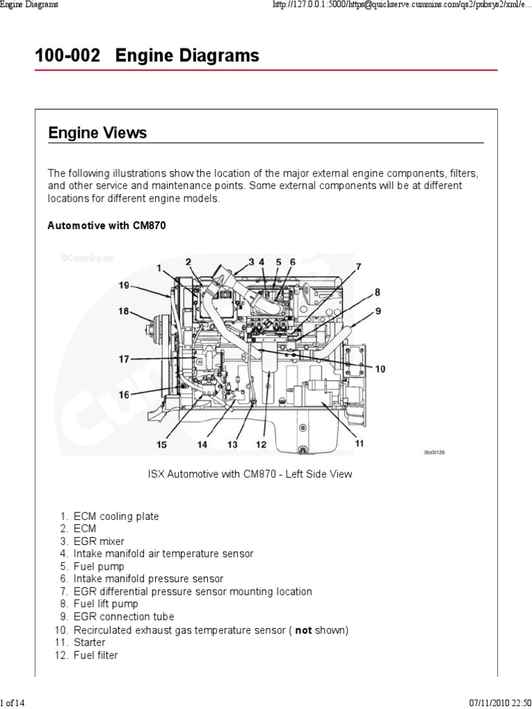 mins Isx Ecm Problems D Egr Wiring Diagram on